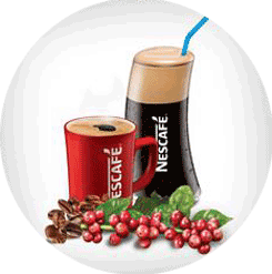 nescafe coffee hot or cold drink