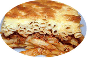 pastitsio greek dish