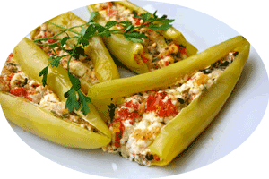 fried-green-peppers-with-feta-cheese